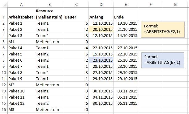 Noser Blog In 7 Schritten Ein Gantt Diagramm In Excel Erstellen