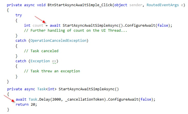 C# Concurrency Blog: async\await aus Threading Sicht