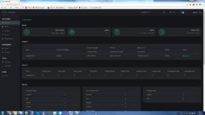 MQTT server dashboard