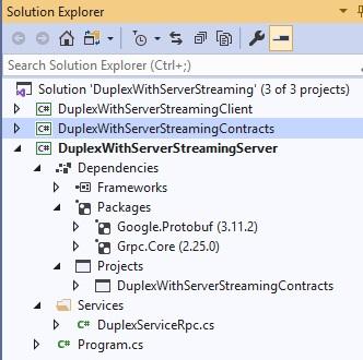Noser Engineering - gRPC - Dependencies vom Server