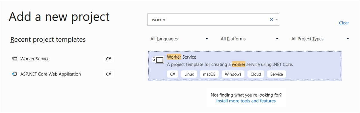 Noser Engineering AG - gRPC Tutorial - Add new Worker Project