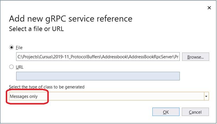 Noser Engineering AG - gRPC Tutorial - Nur messages generieren