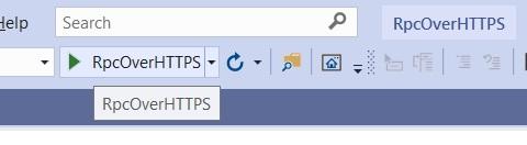 Server starten mit Visual Studio